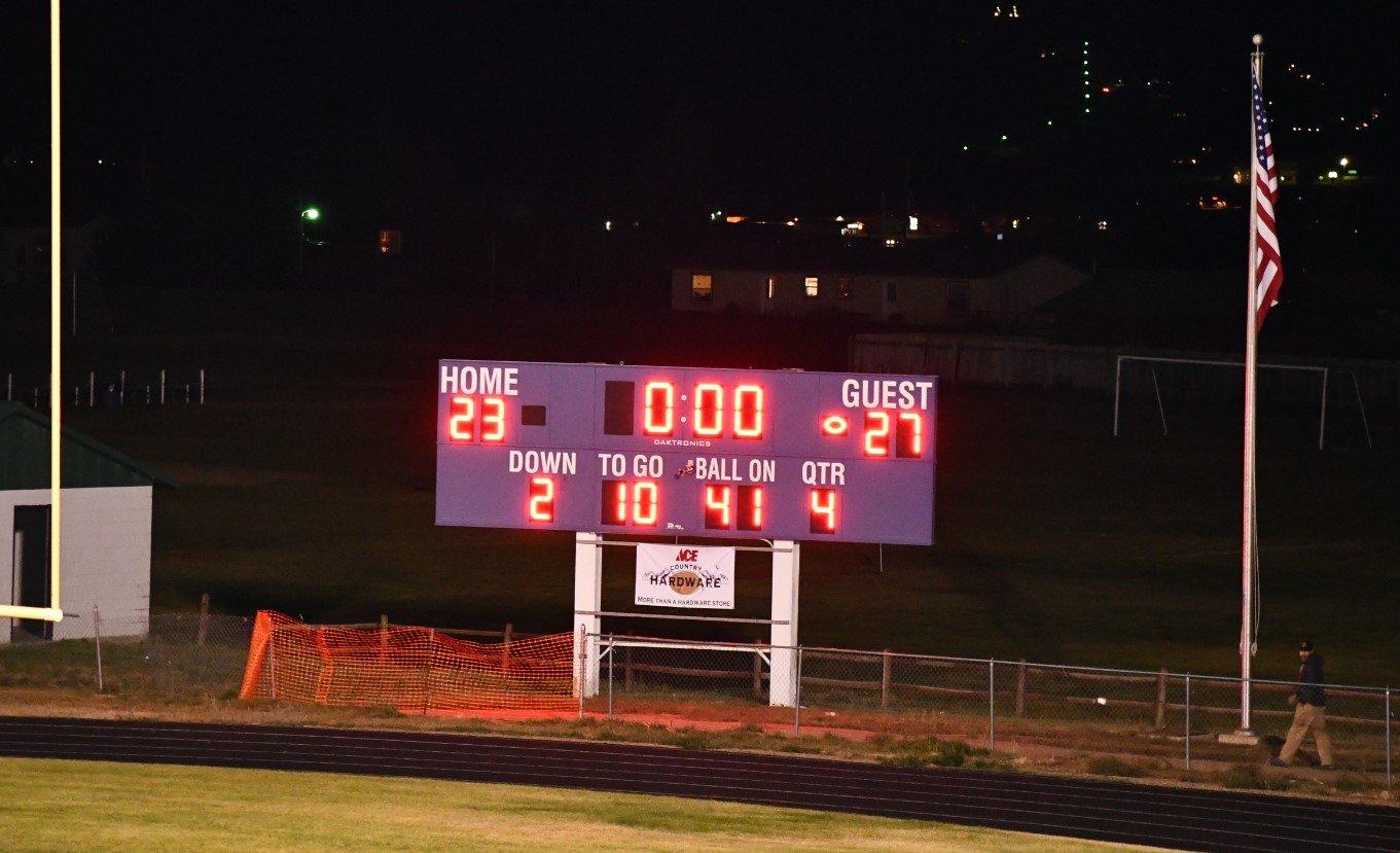 BMHS 8 30 19 Scoreboard