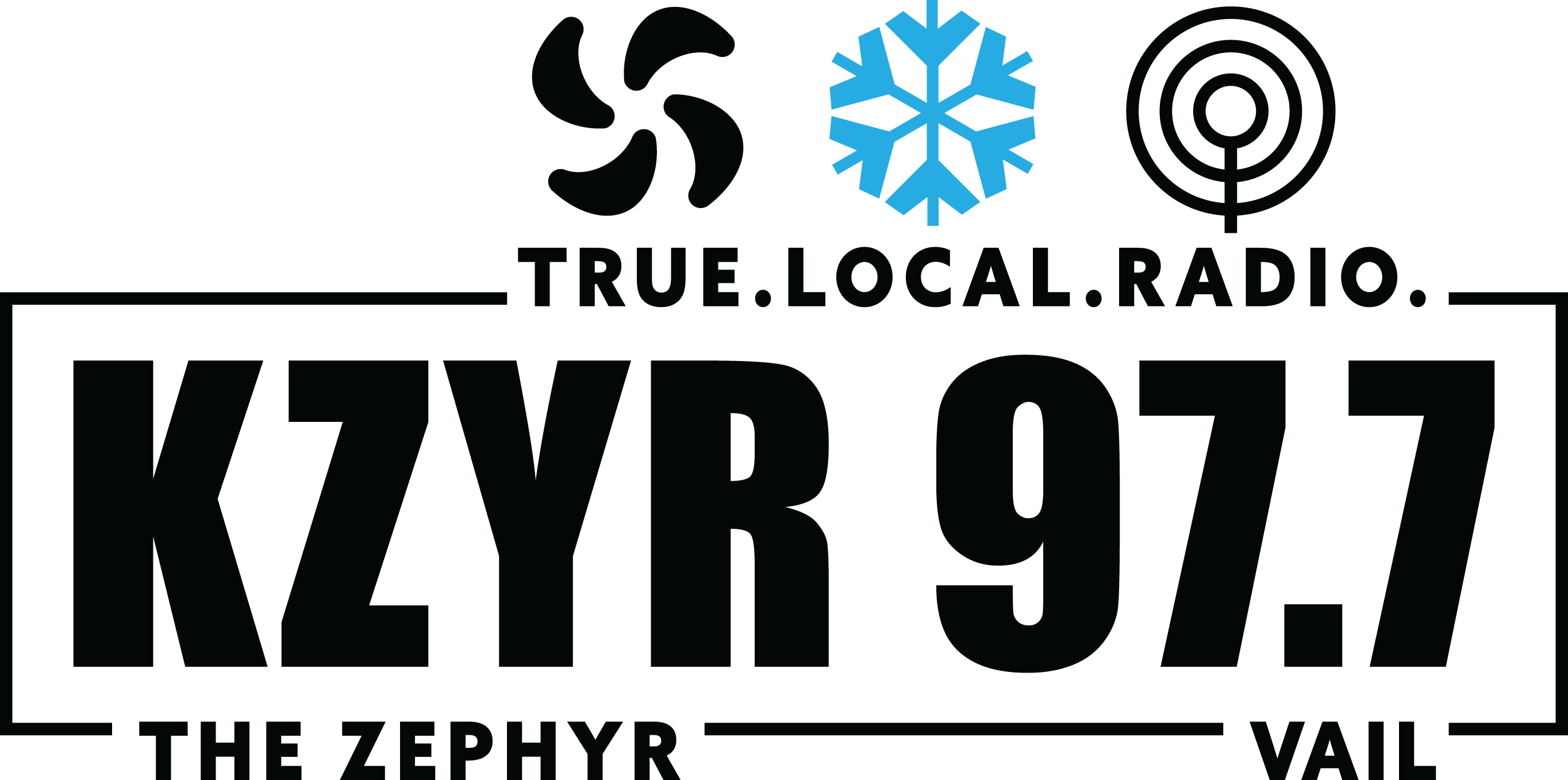 KZYR Logo_Black with Color